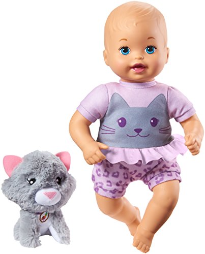 Little Mommy Cuddle and Care Doll  & Kitty -