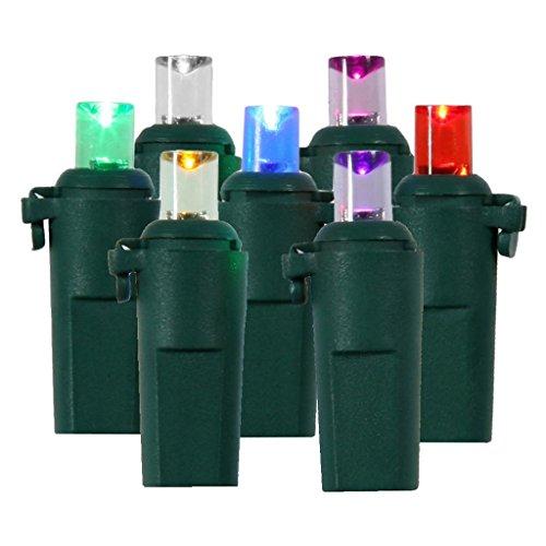 100 Bulb Multi Color Miniature Led Christmas Light Set