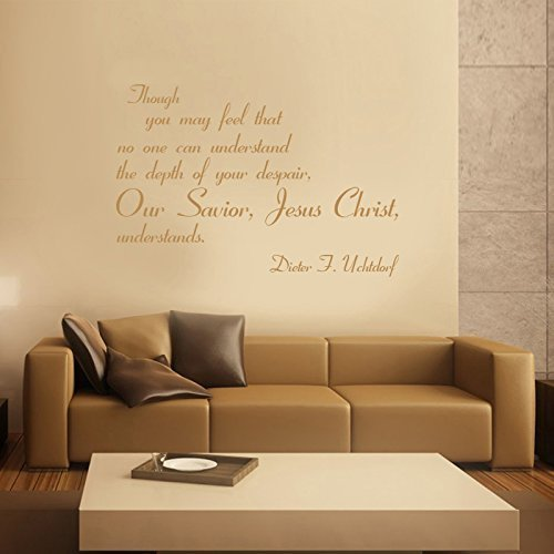 Amazon.com: Christian Quotes Wall Decals, Dieter F Uchtdorf \