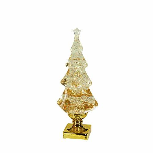 istmas Tree LED Light Up 14 Inch Tabletop Figurine ()