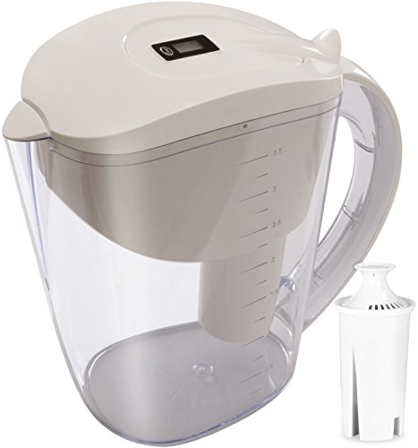 Utopia Kitchen Water Pitcher - 10 Cups - BPA Free - Sticker Filter Change Indicator by Utopia Kitchen
