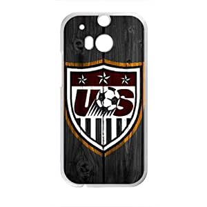 Happy Usa Soccer Cell Phone Case for HTC One M8 by icecream design