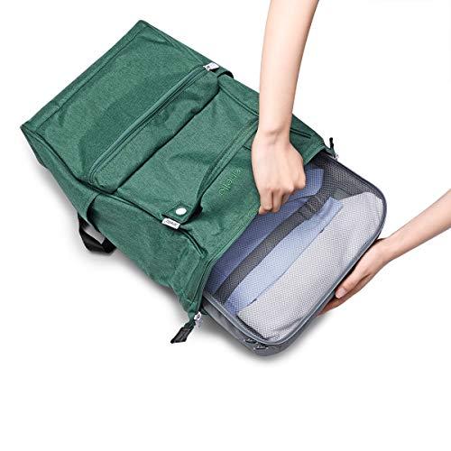VAGREEZ Packing Cubes 4 Pcs Travel Luggage Packing Organizers Set by VAGREEZ (Image #5)