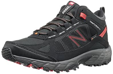 New Balance Men's MO790 Light Hiking Boot,Black/Red,7.5 D US