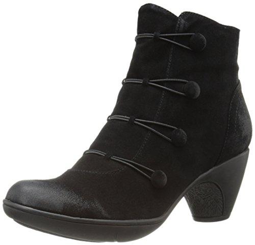 Miz Mooz Women's Maddy Boot, Black, 8 M US