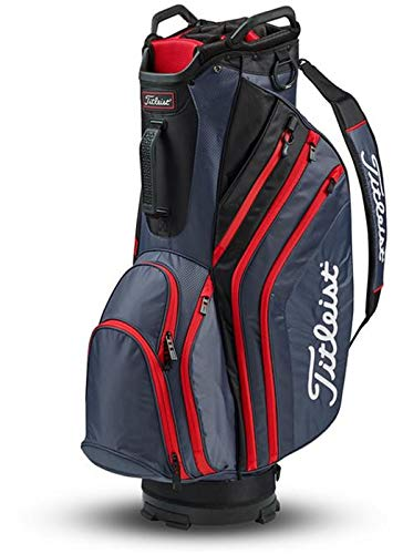 Titleist Lightweight Cart Bag Charcoal/Black/Red
