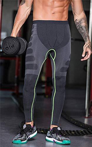 Calzamaglia Ad A Pantaloni Corsa Da Calore Compressione Uomo Rapida Giovane Grün Hoes Outdoor Funzionali Fitness Gambaletto Sport Rapida Asciugatura Training qpwfqrC