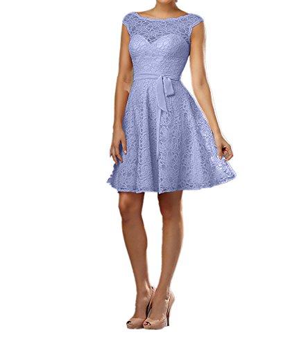 Rosa Spitze Lilac Cocktailkleider Promkleider Charmant Perlen Kurzes Abendkleider Neu Damen Brautjungfernkleider PxRRI6EW