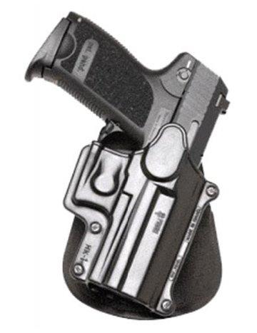 Fobus Concealed Carry Left Hand Rotating Thumb Break Paddle Holster for Heckler & Koch H&K USP Compact 9mm, 40 Cal, 45 Cal/Taurus PT11, PT140, PT111. Ruger SR9/SR9c/SR40 Walther PPQ ()