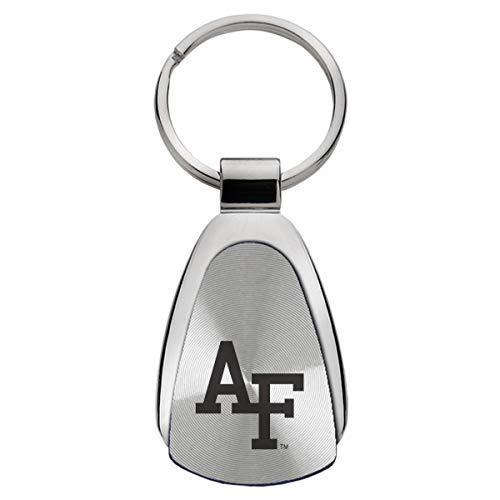 LXG, Inc. United States Air Force Academy - Teardrop Keychain - Silver