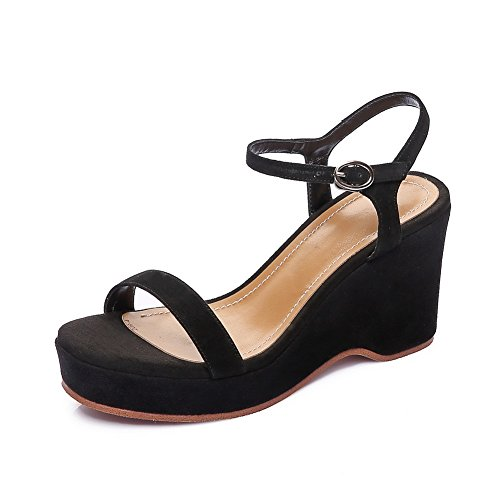 Lining Cold Baguette 1TO9 MJS03176 Solid Sandals Womens Urethane Black Style wtEEI1q