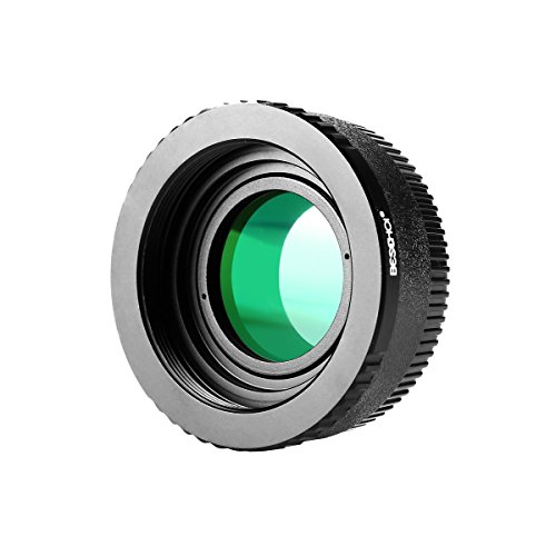 (Beschoi Lens Mount Adapter with Built-in Glass for M42 (42mm x1 Thread Screw) Lens to Nikon F Mount SLR Camera Body, Fits Nikon D7100, D7000, D5300, D5200, D5100, D5000, D3300, D3200, D3100, D3000)
