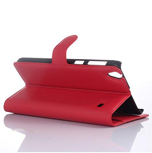Funda Lenovo A936,Manyip Caja del teléfono del cuero,Protector de Pantalla de Slim Case Estilo Billetera con Ranuras para Tarjetas, Soporte Plegable, Cierre Magnético H