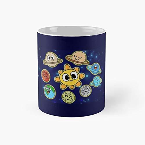 Happy Space Mug, nasa Cup, 11 Ounce Ceramic Mug, Perfect Novelty Gift Mug, Funny Gift Mugs, Funny Coffee Mug 11oz, Tea Cups 11oz, Funny Mugs]()