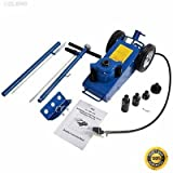 COLIBROX-- 22 Ton Air Hydraulic Floor Jack HD Truck Lift Jacks Service Repair Lifting Tool Aluminum Hydraulic Low Profile Floor Jack