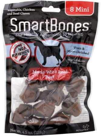 Dog Treats: SmartBones Beef