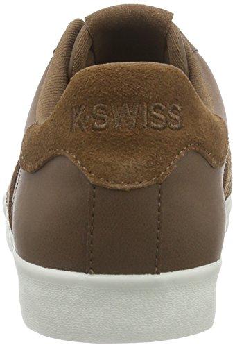 K-Swiss Belmont SO - zapatilla deportiva de piel hombre marrón - Braun (Bison/Bone 267)