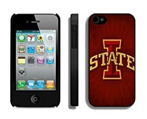 Customized Iphone 4 4s Case Coolest Design Phone Protective Cover Iowa State Cyclones 3