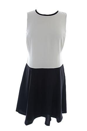 Amazon Com Lauren Ralph Lauren Womens Crepe Colorblock Wear To Work