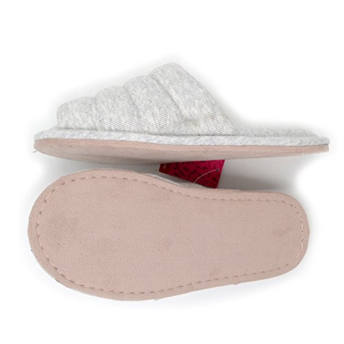 Cotton Millffy Soft Indoor Brushed Slippers Light Insoles Latex Natural Grey Comfortable Open Toe Fish qrprE