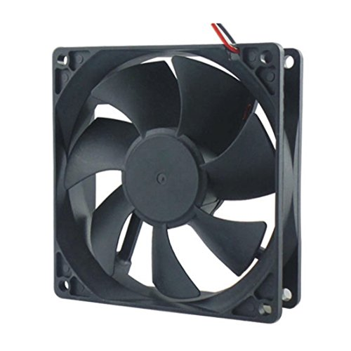 Copapa DC cooling fan Brushless fan computer fan case fan 12025 120mmx120mm x25mm (Brushless Cooling)