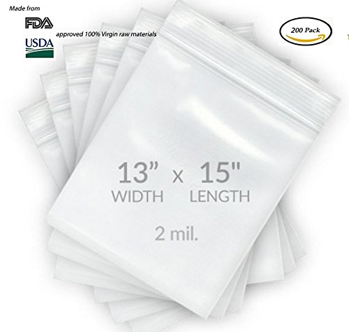Reclosable Poly Bags With Handle - 4