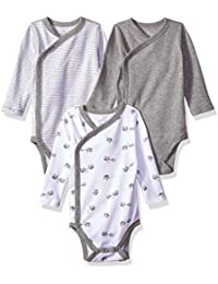Baby Organic 3-Piece Long Sleeve Side Snap Bodysuits