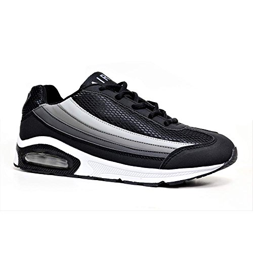 Mens Airtech 7 10 Course 11 Les Air 90 Sport 9 12 Taille Chocs Chaussures Baskets De Legacy Noir Bubble Absorbant Gris Fitness Blanc Max 8 pxwrqpH8a