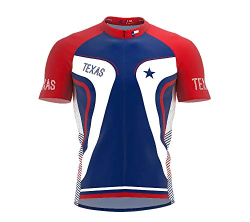 ScudoPro Texas Bike Short Sleeve Cycling Jersey for Women - Size M