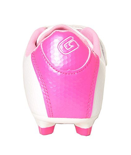 Little White Shoes Kid Lightweight Girls Gavin Lace Kid Up Soccer Big 7qHxYZ