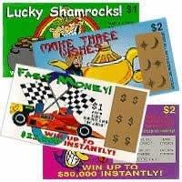 4 Fake Lottery - Lotto Tickets ()