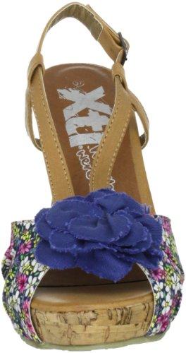 XTI XTI Pumps XTI25209SP12 - Zapatos de vestir de tela para mujer Azul