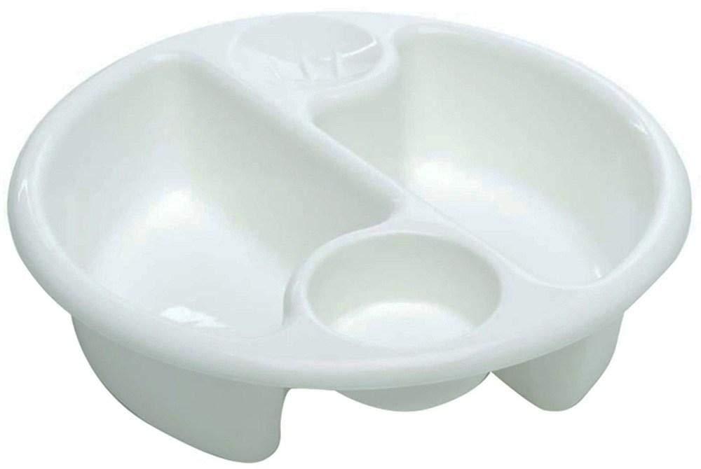 El Vivero Co TopNTail Circular Un Lavabo Limpio Blanco