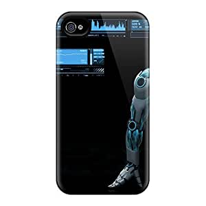 Awesome Start The Future Flip Case With Fashion Design For Iphone 4/4s