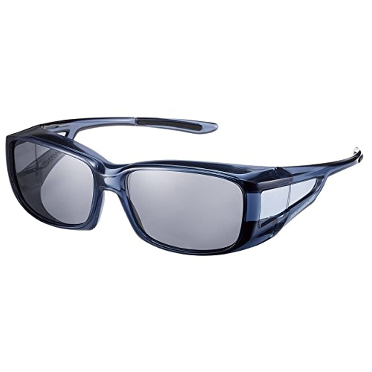 [해외] SWANS스완스 편광 썬글라스 안경의 위로부터 건걸친 over글래스 OG4-0051 SCLA 스모크 클리어
