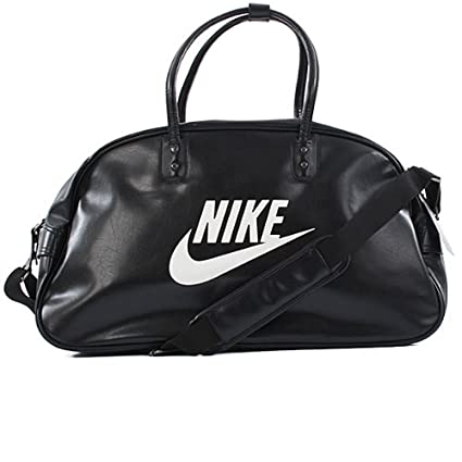 27ba01c5a8 Amazon.com   Nike Unisex-Adult Heritage Si Club Bag Sail Fs Black Sail Fs12  Black Sail Fs12   Nike Bags Leather   Sports   Outdoors