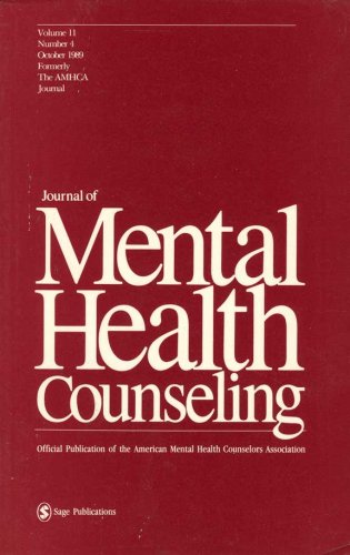 Journal Of Mental Health Counseling Vol 11 No 4 October 1989 11
