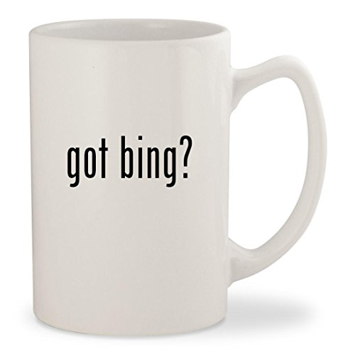 Got Bing    White 14Oz Ceramic Statesman Coffee Mug Cup