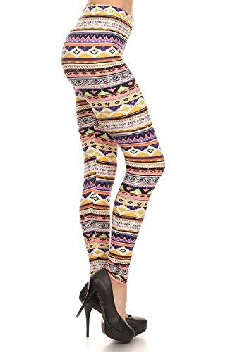 Always Women's Sexy Colorful Basic High Waist Leggings - Beautiful Leggings