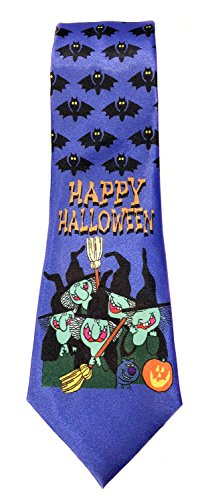 Stonehouse Collection Men's Happy Halloween Necktie - Funny