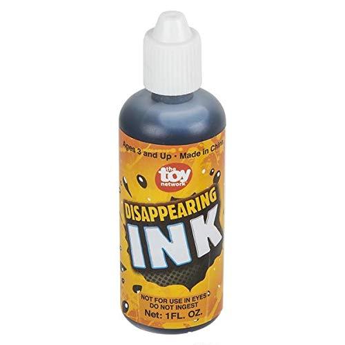 Rhode Island Novelty 1 oz Magic Disappearing Ink | Two dozen Bottles