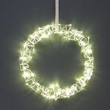 new style 701c4 a18ed Fairy Light Christmas Wreath: Amazon.co.uk: Kitchen & Home