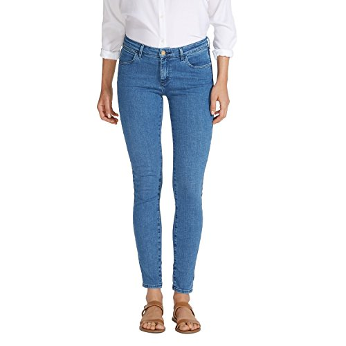 Wrangler - Jeans - Femme Bleu Indigo Uniform 86F