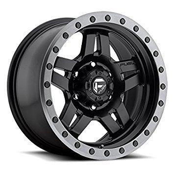Fuel Offroad D557 Anza 15x8 5x114.3 -18mm Black Wheel Rim