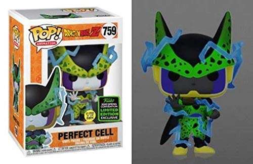 POP Funko Dragon Ball Z Cell Glow in The Dark (2020 Spring Convention Exclusive)