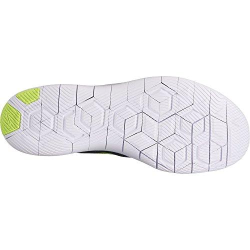 Flex Contact Mens Running Shoes - Black/volt-photo blue-white