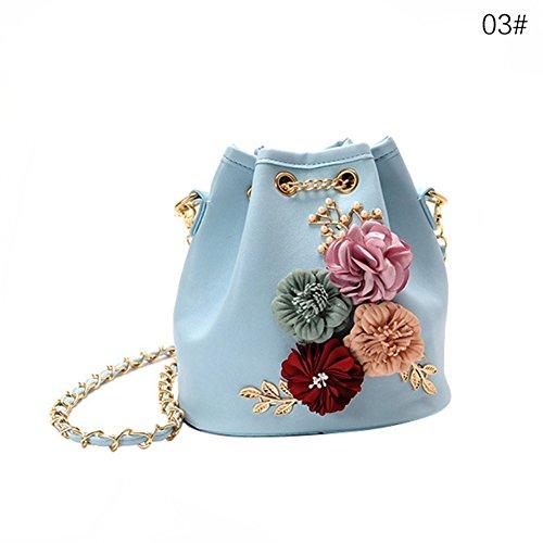 Azul al Hombro 20411U31KRNH YHLVE Azul para Bolso Azul Mujer Y5nqpR