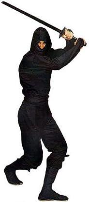 Gungfu Authentic Ninja Uniform in Classic Black - Black
