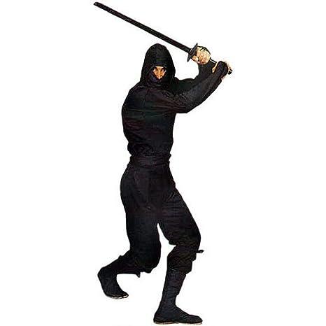 Gungfu Authentic Ninja Uniform in Classic Black - Color: Black, Size: Small
