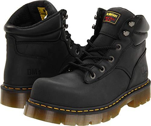 - Dr. Martens Burham ST Work Boot,Black Industrial Greasy,12 UK/14 M US Women's/13 M US Men's
